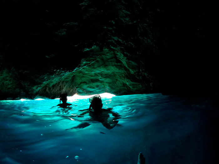 Tour to the blue cave and cala Boquer